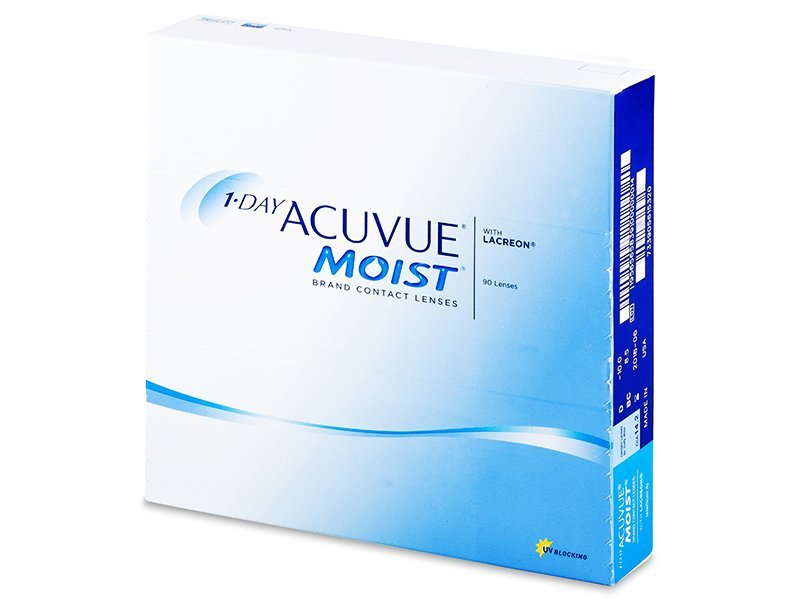 1 Day Acuvue Moist (90 Linsen) - Tageslinsen - Johnson and Johnson