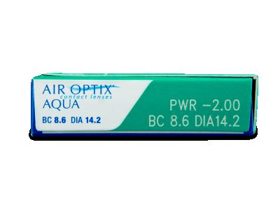 Air Optix Aqua (6Linsen) - Vorschau