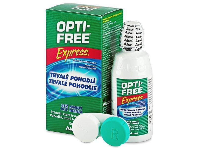 OPTI-FREE Express 120ml  - Reinigungslösung  - Alcon