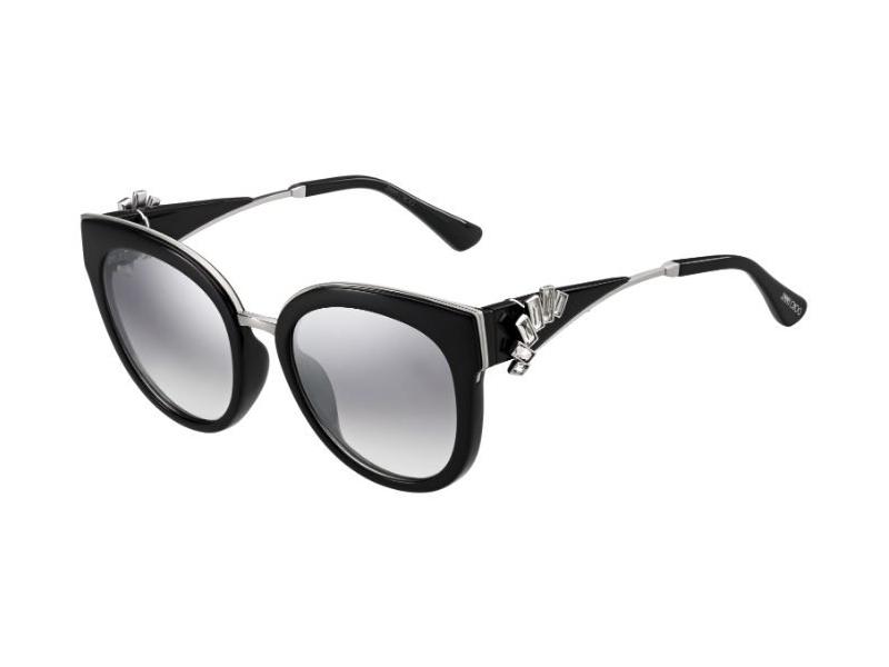 JIMMY CHOO Jimmy Choo Damen Sonnenbrille » JADE/S«, schwarz, U4T/FU - schwarz/ silber