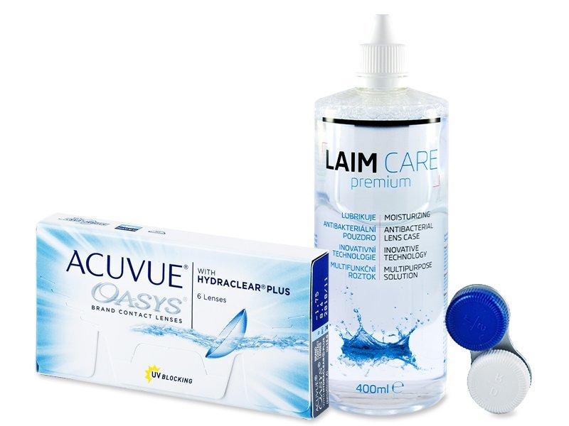 Acuvue Oasys (6Linsen) +LaimCare400ml - Spar-Set