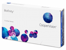 Kontaktlinsen - Biofinity (3Linsen)
