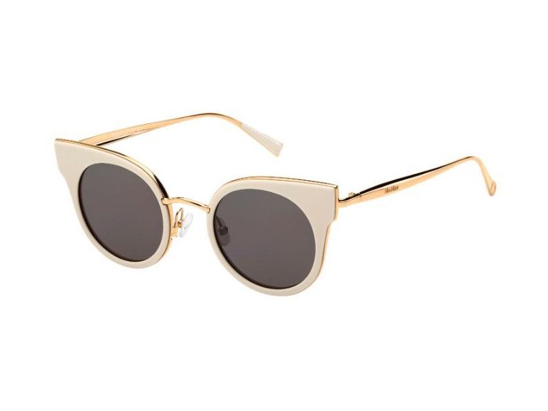 Max Mara Damen Sonnenbrille » MM ILDE II«, weiß, 25A/K2 - weiß/ rosa