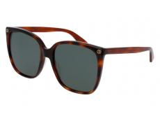 Sonnenbrillen Extragroß - Gucci GG0022S-002