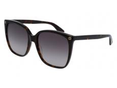 Sonnenbrillen Extragroß - Gucci GG0022S-003