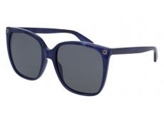 Sonnenbrillen Extragroß - Gucci GG0022S-005