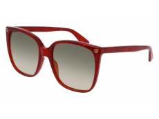 Sonnenbrillen Extragroß - Gucci GG0022S-006