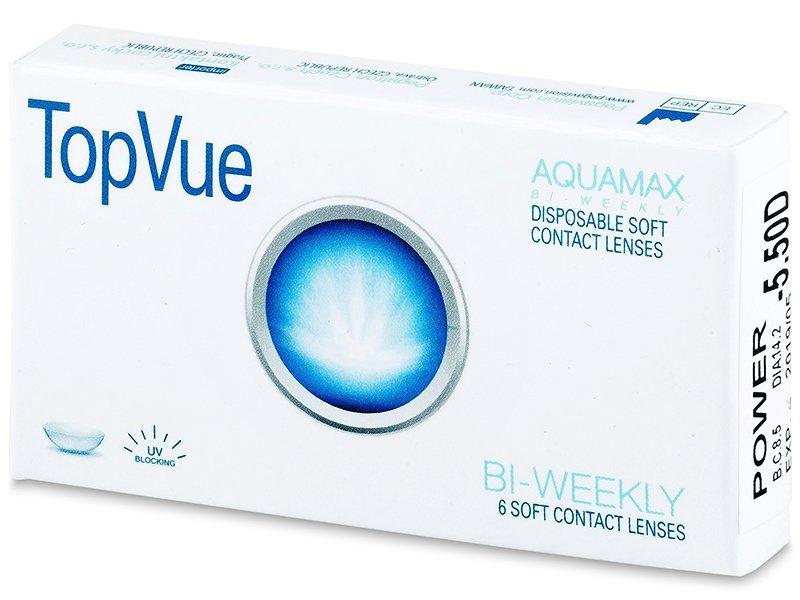 TopVue Bi-weekly (6Linsen) -  2-Wochen-Kontaktlinsen - TopVue