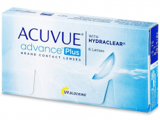 Kontaktlinsen Johnson and Johnson - Acuvue Advance PLUS (6 Linsen)