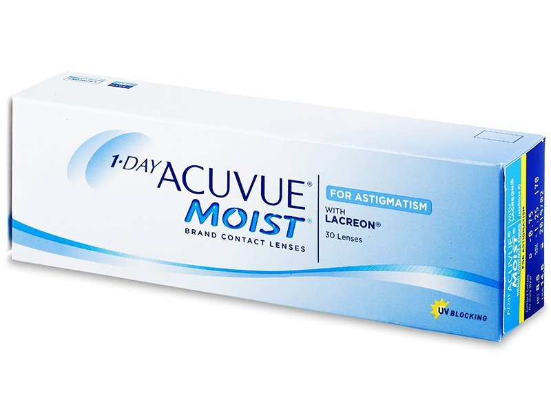 1 Day Acuvue Moist for Astigmatism (30Linsen) - Torische Kontaktlinsen