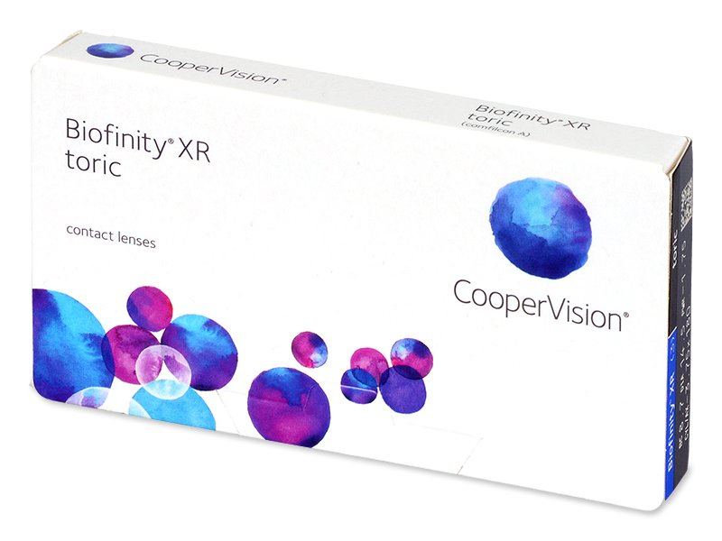 Biofinity XR Toric (3 Linsen) - Torische Kontaktlinsen