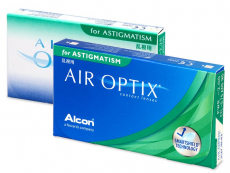 Kontaktlinsen Alcon (Ciba Vision) - Air Optix for Astigmatism (6 Linsen)