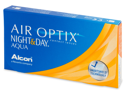 Air Optix Night and Day Aqua (6 Linsen) - Älteres Design